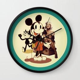 Happy Days (one) Wall Clock