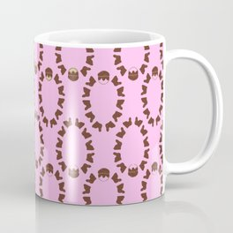 Easter Sunday Eggs Pattern Happy Easter Gift Coffee Mug