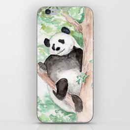Panda, Hanging Out iPhone Skin