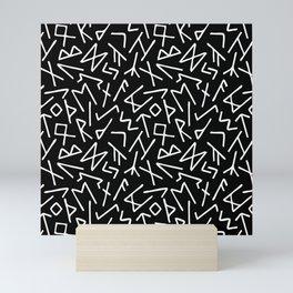 Scrambled Runes I Mini Art Print