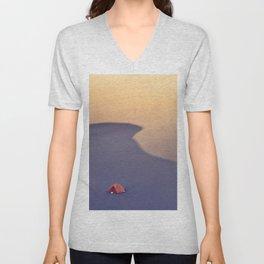 Sandy Waves Unisex V-Neck