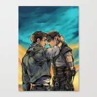 daunt Canvas Prints featuring Say Goodbye by Daunt
