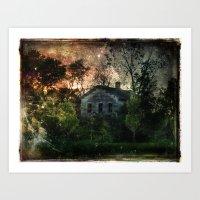 The Ghost House Art Print