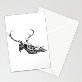 Deer Skull Stationery Cards
