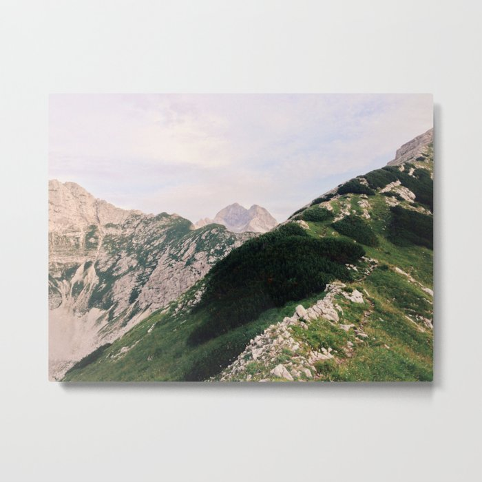 Mountains in the morning Metal Print