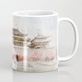 The forbidden City, Beijing Coffee Mug
