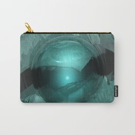 Green Cavern Reflections Carry-All Pouch
