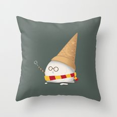 Invisibility Spell Throw Pillow