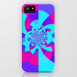 Kaleidoscope Mandala Unicorn Colors iPhone Case