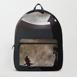 Halloween Scene Backpack