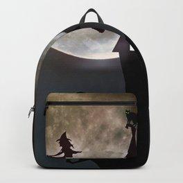 Halloween Scene Backpack