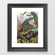 The Smell of Fear Framed Art Print