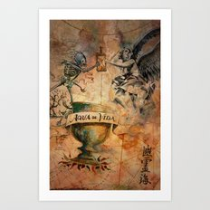 Travel Spirit Art Print