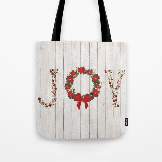 Joy Wreath #2 Tote Bag