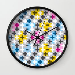 Tripple Cross Wall Clock
