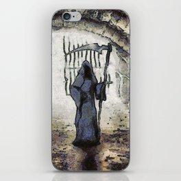 Halloween Horror Grim Reaper iPhone Skin
