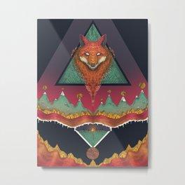Fox Hunters  Metal Print