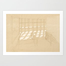Light and Lines Art Print