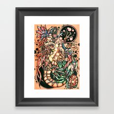 Slow Decay Framed Art Print