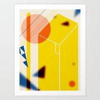 Composition of Shapes Art Print
