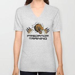 Predator Training   Fitness Muscles Strength Unisex V-Neck