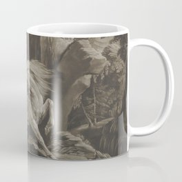 George Stubbs - The Lion and Horse Coffee Mug