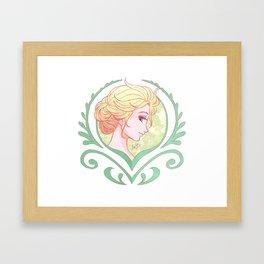 Crocus Elsa Framed Art Print