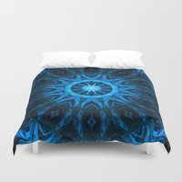 dream catcher Duvet Covers featuring Dream Catcher by Deborah Janke