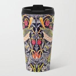 William Morris Strawberry Thief Art Nouveau Painting Travel Mug