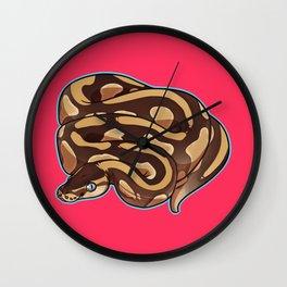 Lesser Ball Python Wall Clock