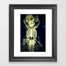 Mr. Bones Framed Art Print