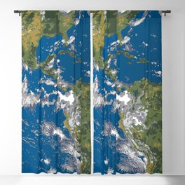 Earth Blackout Curtain