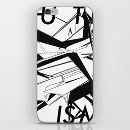 History of Art in Black and White. Futurism iPhone Skin