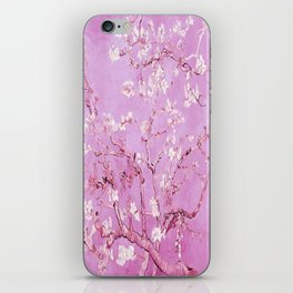 Vincent Van Gogh Almond BlossomS. Pink Lavender iPhone Skin