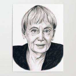 Ursula Le Guin Poster