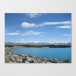 Mount Cook, New Zealand Canvas Print