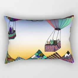 Fly me to the moon Rectangular Pillow