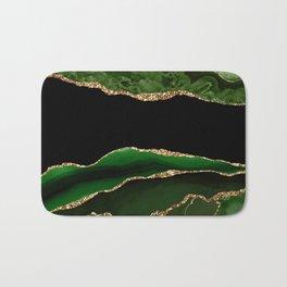 Emerald Marble Glamour Landscapes Bath Mat