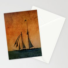 The Schooner America in Key West Stationery Cards