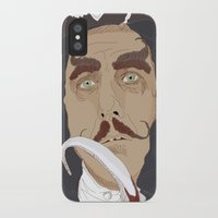 captain hook iPhone & iPod Cases featuring HOOK by Itxaso Beistegui Illustrations