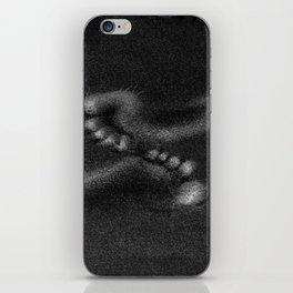 Footsteps iPhone Skin