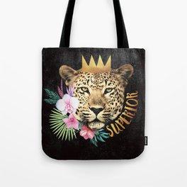 superior in the jungle Tote Bag