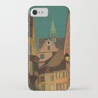 jazzberry iPhone & iPod Cases featuring Evening by Megs stuff...