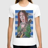 neil gaiman T-shirts featuring Neil Young by Robert E. Richards