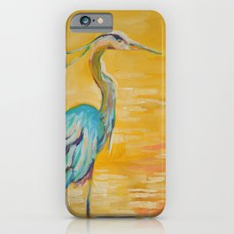 The Great Heron iPhone Case