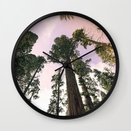 Redwood Portal II Wall Clock