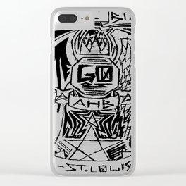 'Sup Lil Bitch Clear iPhone Case