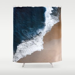 Even the biggest waves... Shower Curtain