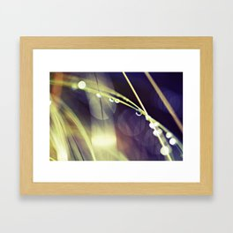intermission over Framed Art Print