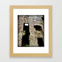 Castle Ruin Framed Art Print